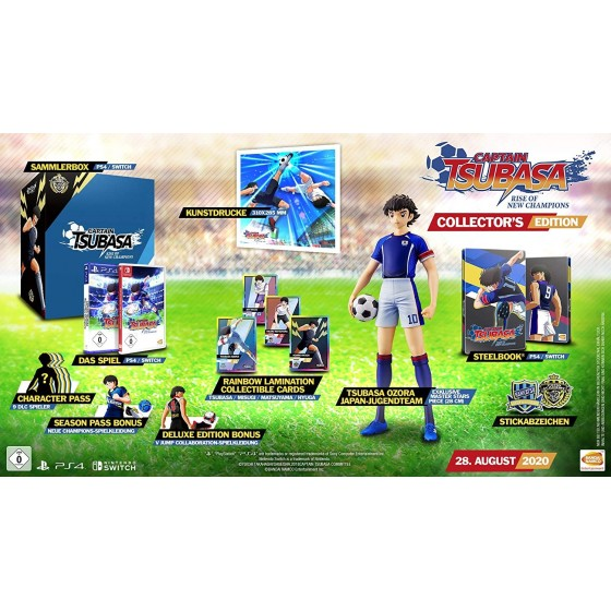 Captain Tsubasa: Rise of New Champions - Collector's Edition - Switch