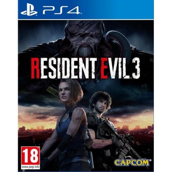 Resident Evil 3 - Lenticular Edition - PS4 - The Gamebusters