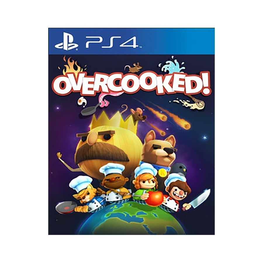 Overcooked gourmet edition ps4