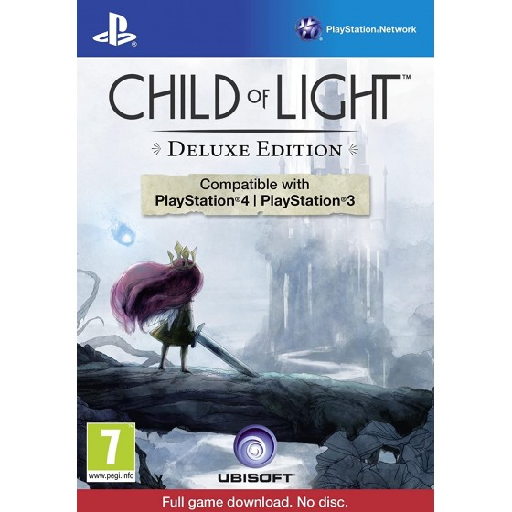 Child of Light - Deluxe Edition - PS4