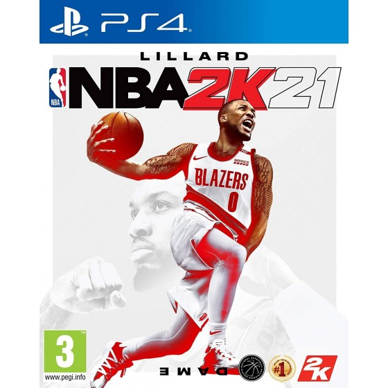 NBA 2K21 - PS4 - The Gamebusters