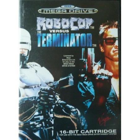 Robocop Vs Terminator - Mega Drive