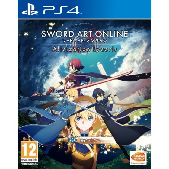 Sword Art Online: Alicization Lycoris - PS4 - The Gamebusters
