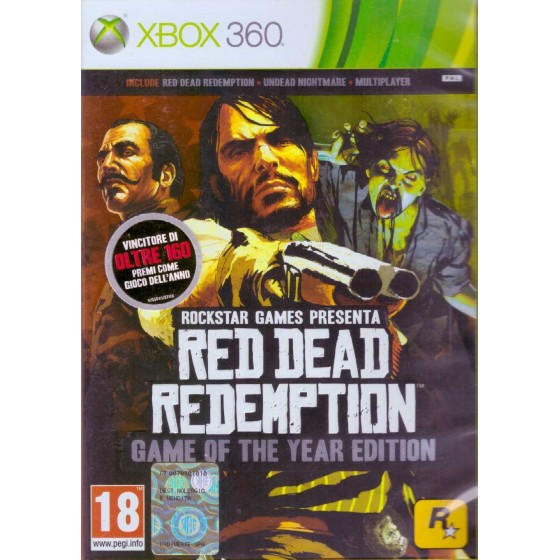 Red Dead Redemption - GOTY Edition - Xbox 360