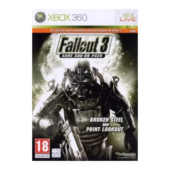 Fallout 3 - Game Add-On Pack - Xbox 360
