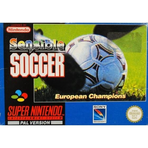 Sensible Soccer - SNES