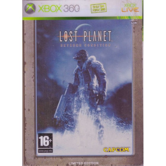 Lost Planet Extreme Condition - Steelbook Edition - Xbox 360
