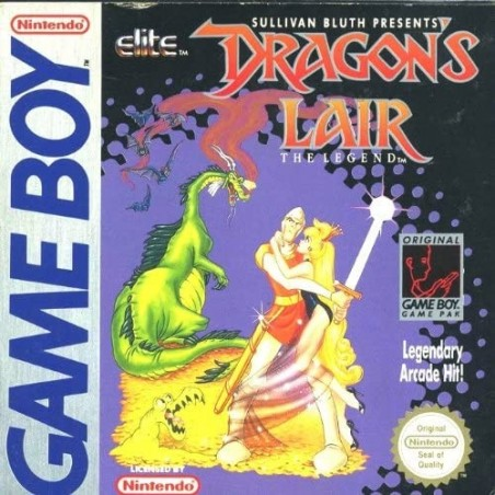Dragon's Lair: The Legend - Game Boy