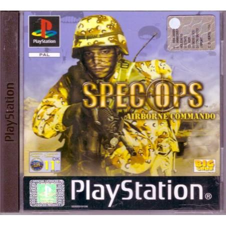 Spec Ops: Airborne Commando - PS1