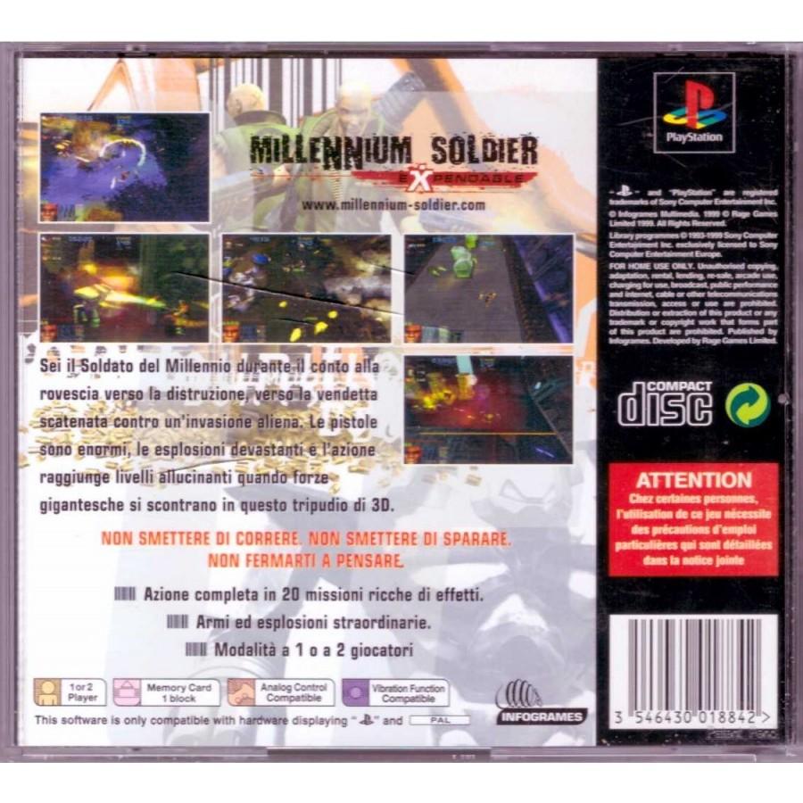 Millennium Soldier Expendable - Best of Infogrames - PS1
