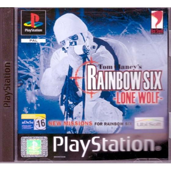 Tom Clancy's Rainbow Six Lone Wolf - PS1