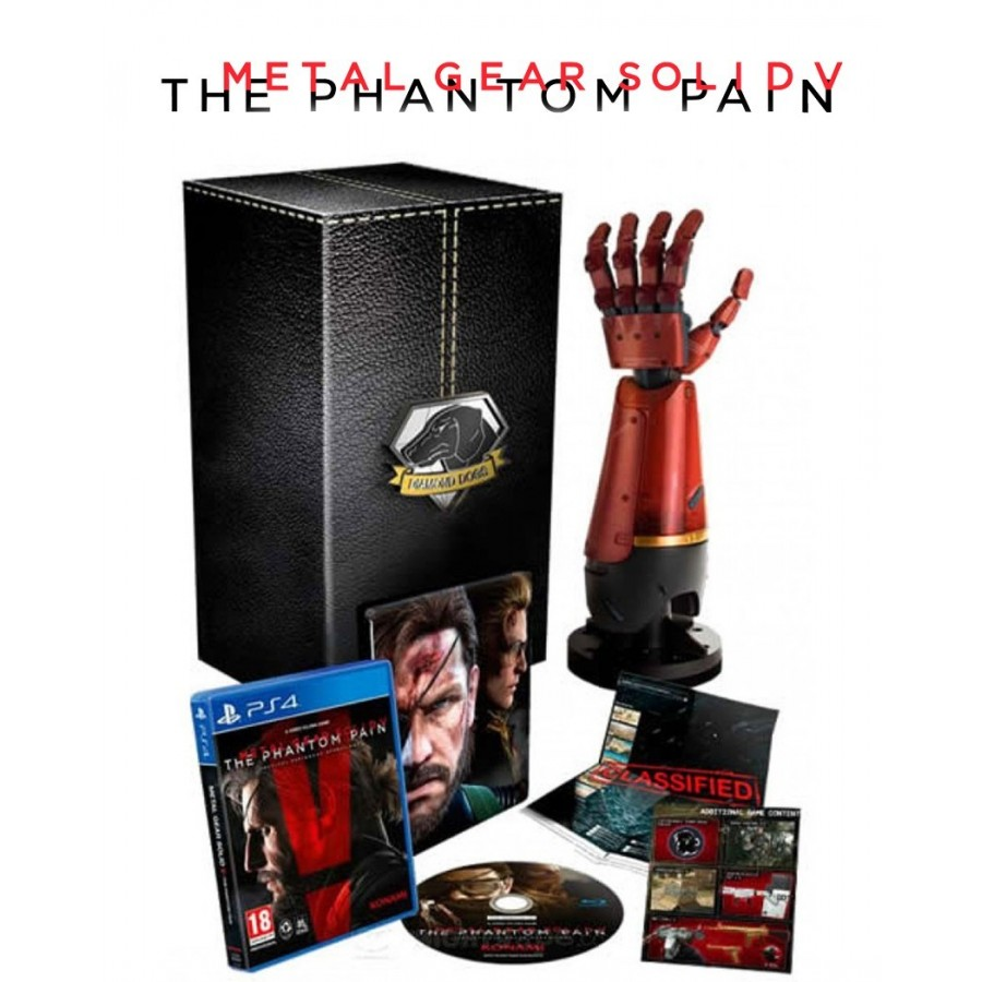 Metal Gear Solid V The Phantom Pain Collector's Edition - PS4