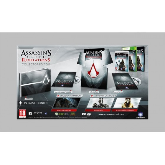 Assassin's Creed Revelations - Collector's Edition - Xbox 360 usato