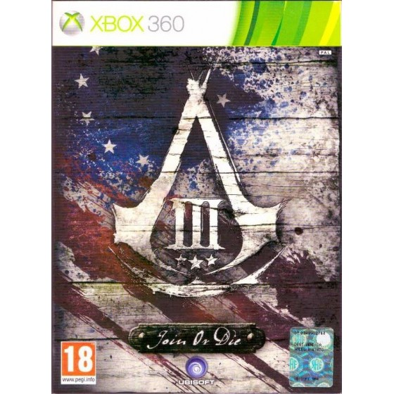 Assassin's Creed III - Join or Die Edition - Xbox 360