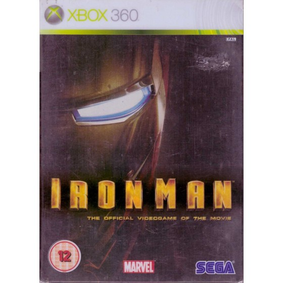 Iron Man - Steelbook Edition - Xbox 360
