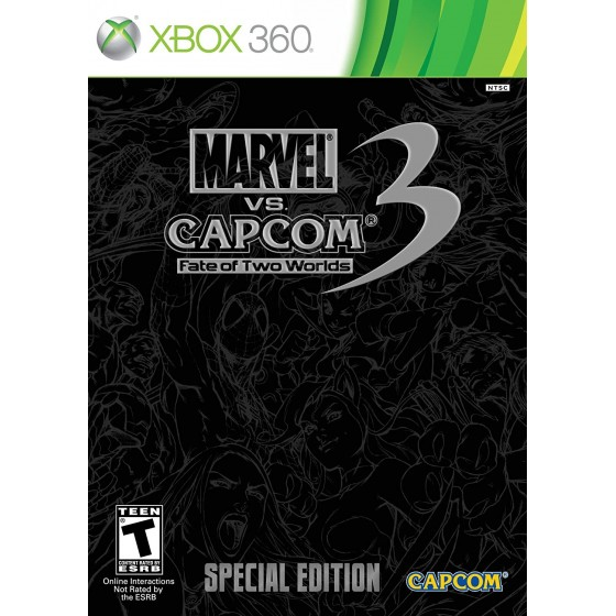 Marvel vs Capcom 3 Fate of Two Worlds - Special Edition - Xbox 360