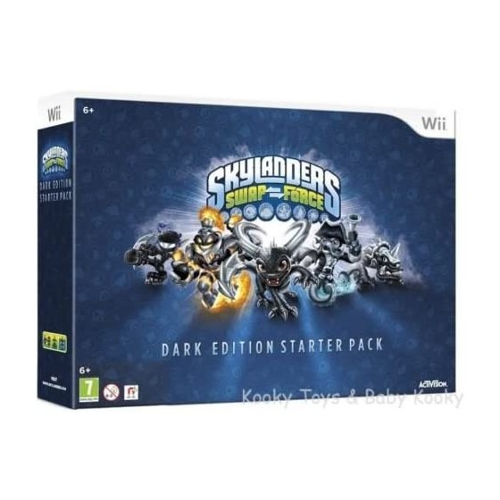 Skylanders SwapForce: Dark Edition Starter Pack - Wii