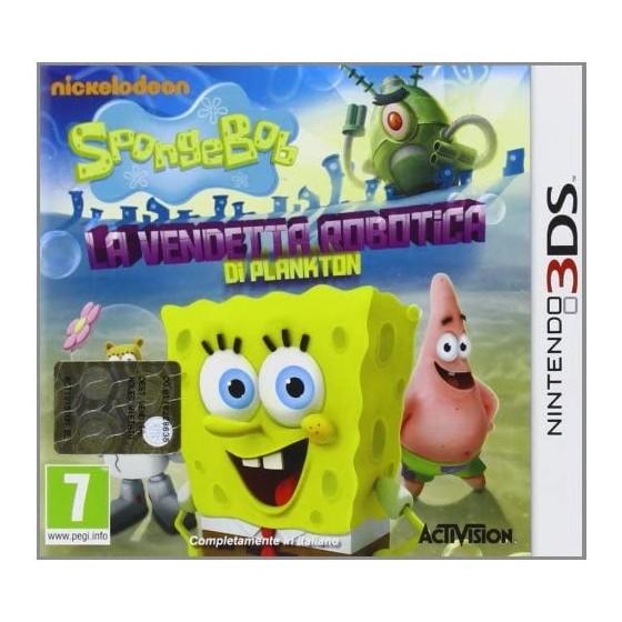 SpongeBob La vendetta robotica di Plankton - 3DS