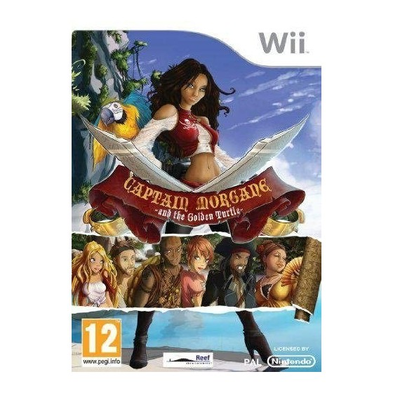 Capitan Morgan e la Tartaruga d'Oro - Wii