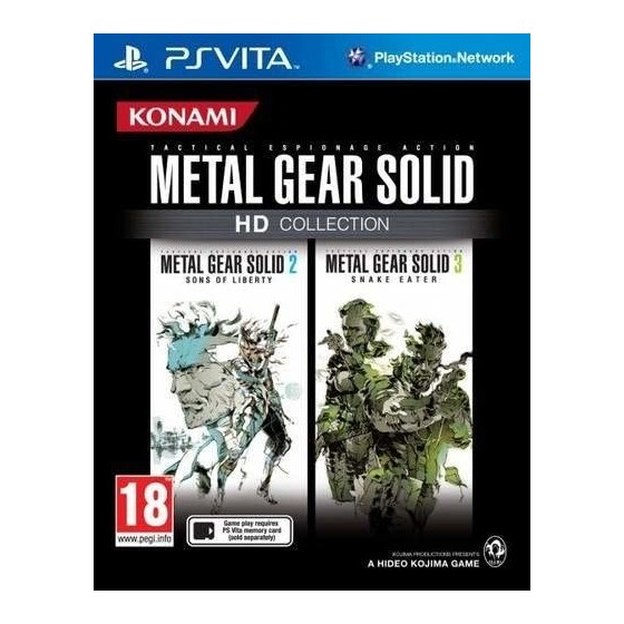 Metal Gear Solid HD Collection - PSVita