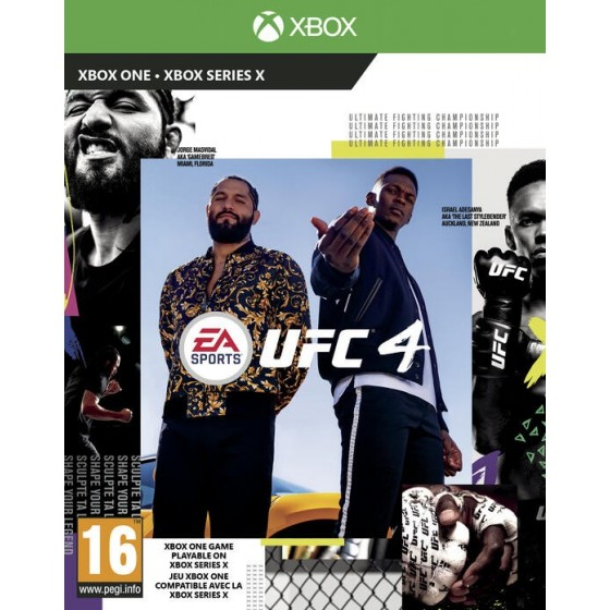 UFC 4 - Preorder Xbox One - The Gamebusters