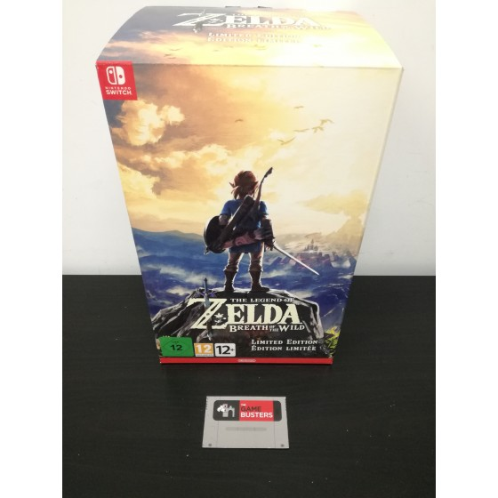The Legend of Zelda: Breath of the Wild - Limited Edition - Switch