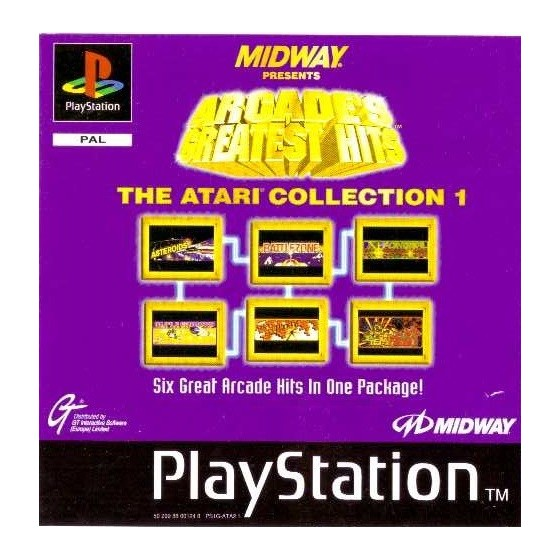 Arcade's Greatest Hits The Atari Collection 1 - PS1