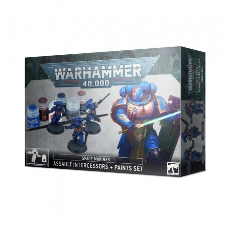 Warhammer 40.000 - Assault Intercessors + Paint Set