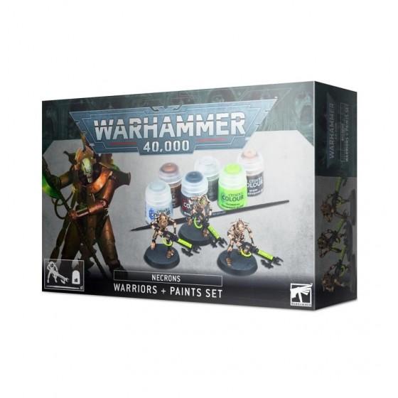 Warhammer 40.000 - Necrons Warriors + Paint Set
