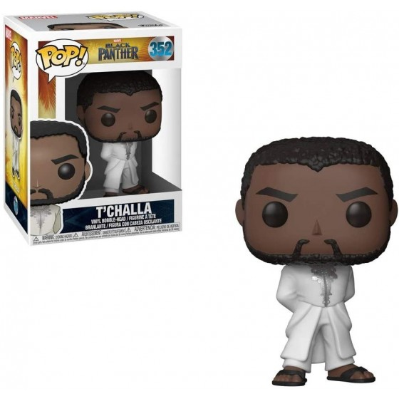 Funko Pop! - T'Challa (White Suit) (352) - Black Panther