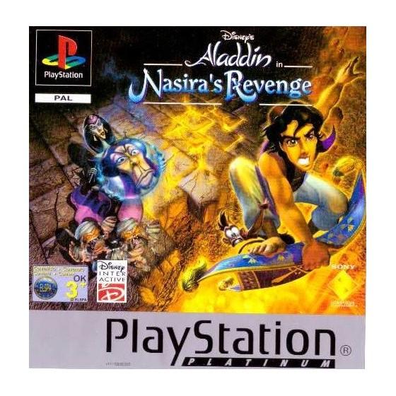 Disney's Aladdin La vendetta di Nasira - Platinum - PS1