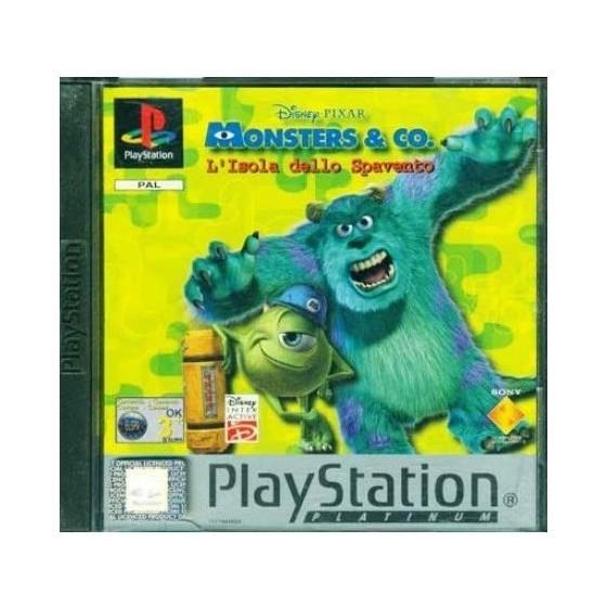 Monsters & Co. L'isola dello spavento - Platinum - PS1