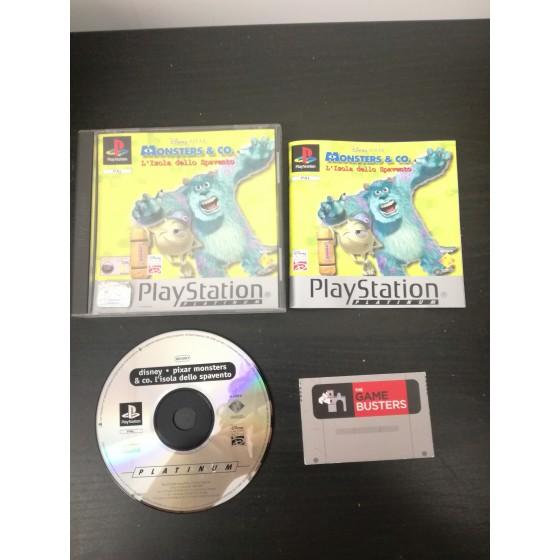 Monsters & Co. L'isola dello spavento - Platinum - PS1 usato