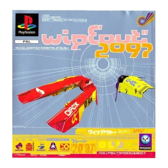 Wipeout 2097 - PS1