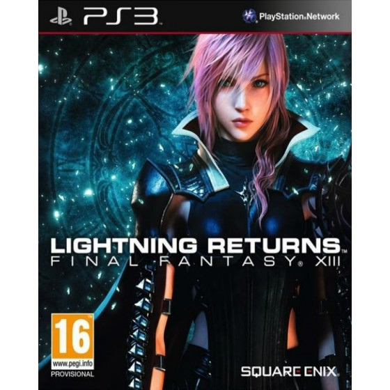 Final Fantasy Lightning Returns - PS3 usato