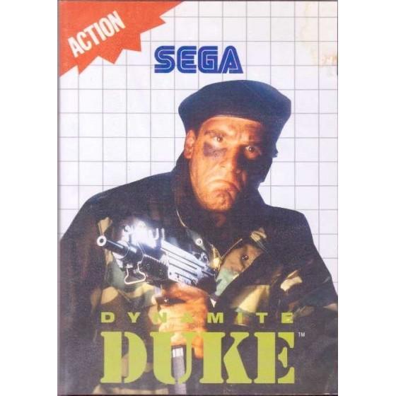 Dynamite Duke - SEGA Master System