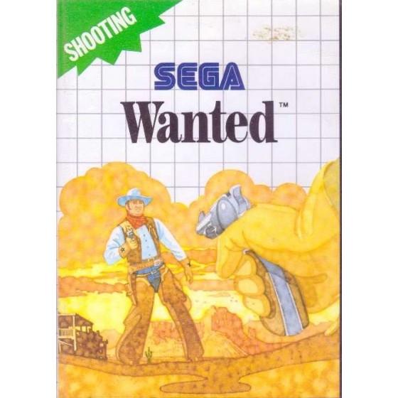Wanted - SEGA Master System