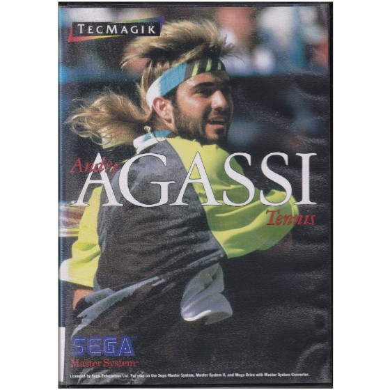 Andre Agassi Tennis - Master System