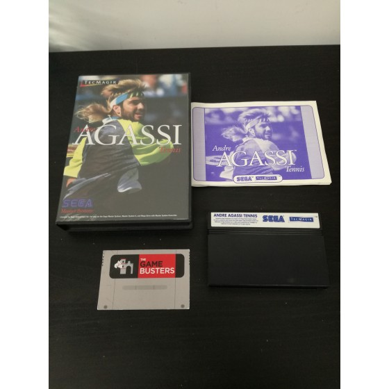 Andre Agassi Tennis - Master System usato