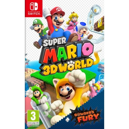 Super Mario 3D World + Bowser's Fury - Preorder Switch