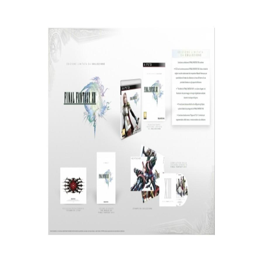 Final Fantasy XIII Ed. Limitata da collezione ps3