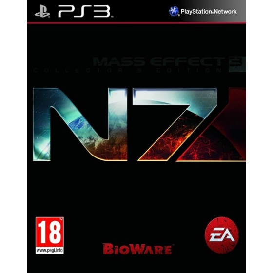 Mass Effect 3 N7 Collector's Edition ps3
