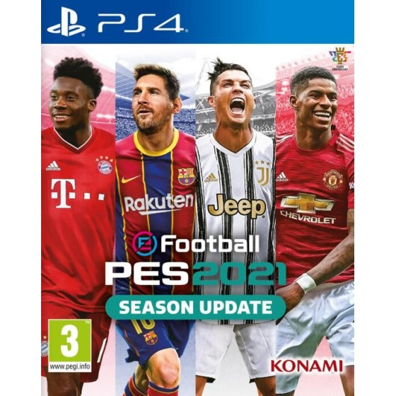 eFootball PES 2021 - Season Update - PS4 - The Gamebusters