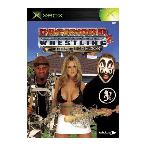 Backyard Wrestling 2 There Goes the Neighborhood - Xbox