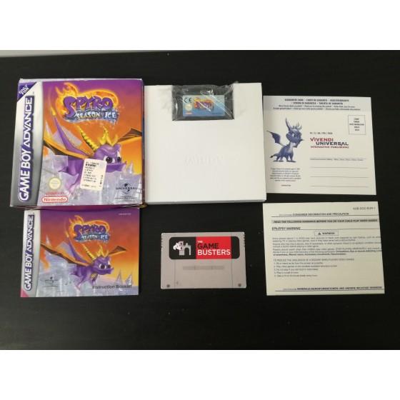Spyro Seasons of Ice - Game Boy Advance
