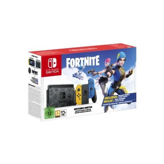 Console Nintendo Switch 1.1 Blu/Giallo - Limited Edition - Fortnite
