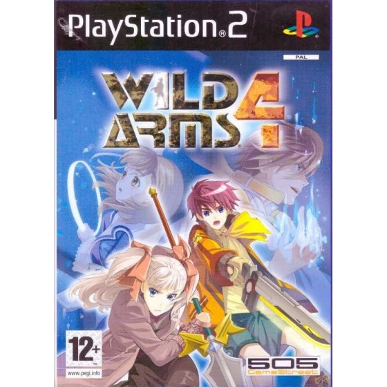 Wild Arms 4 - PS2