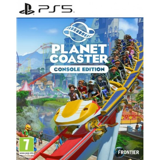 Planet Coaster- PS5 - The Gamebusters