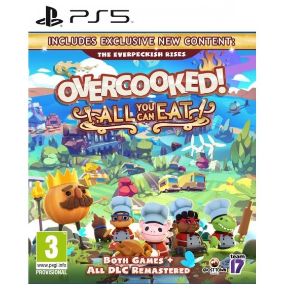 Overcooked: All You Can Eat! - Preorder PS5 - The Gamebusters