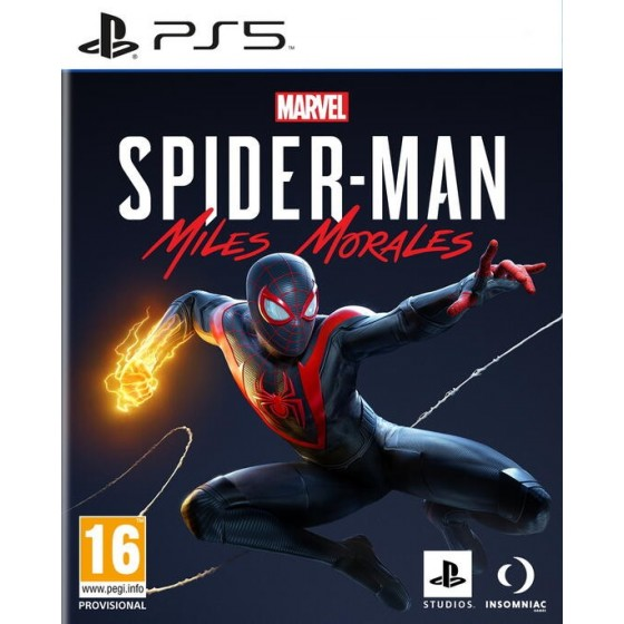 Marvel's Spider-Man: Miles Morales - PS5 - The Gamebusters
